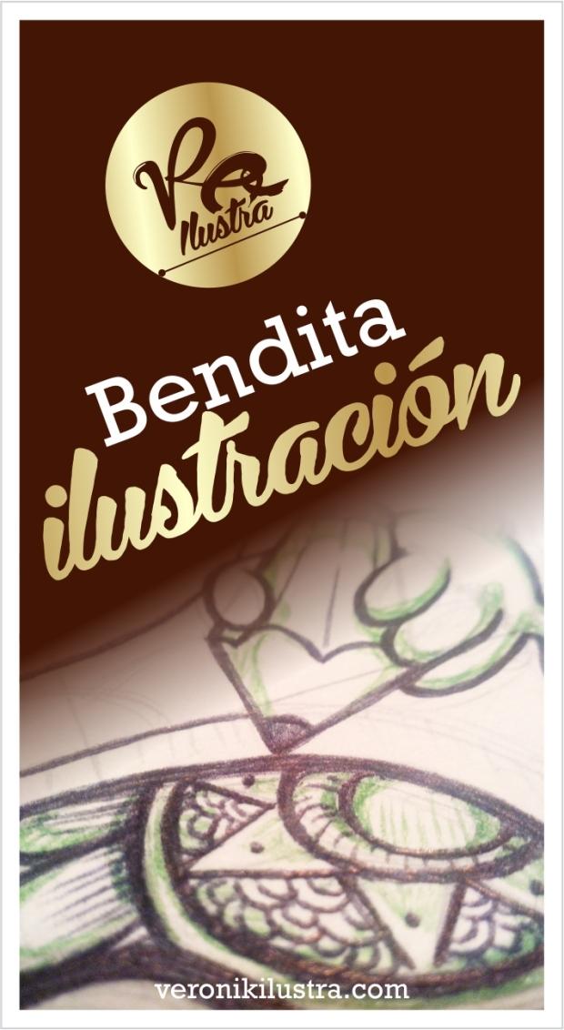 bendita ilustracion by veronik ilustra