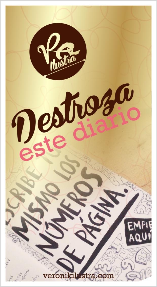 Destroza este diario by veronik ilustra