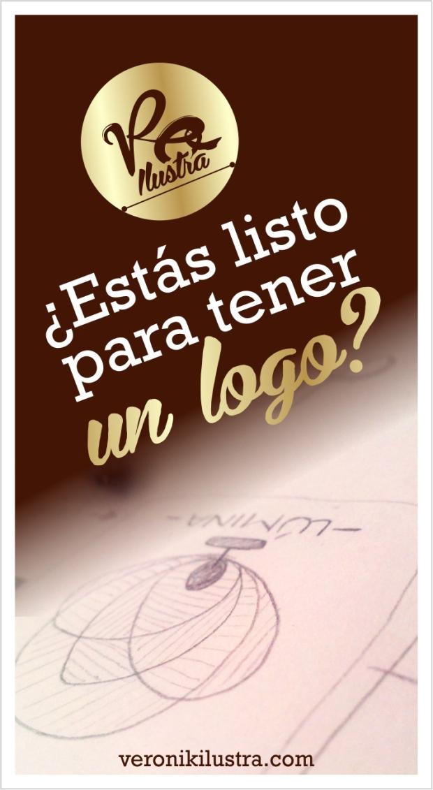 Estas listo para tener un logo by Veronik Ilustra