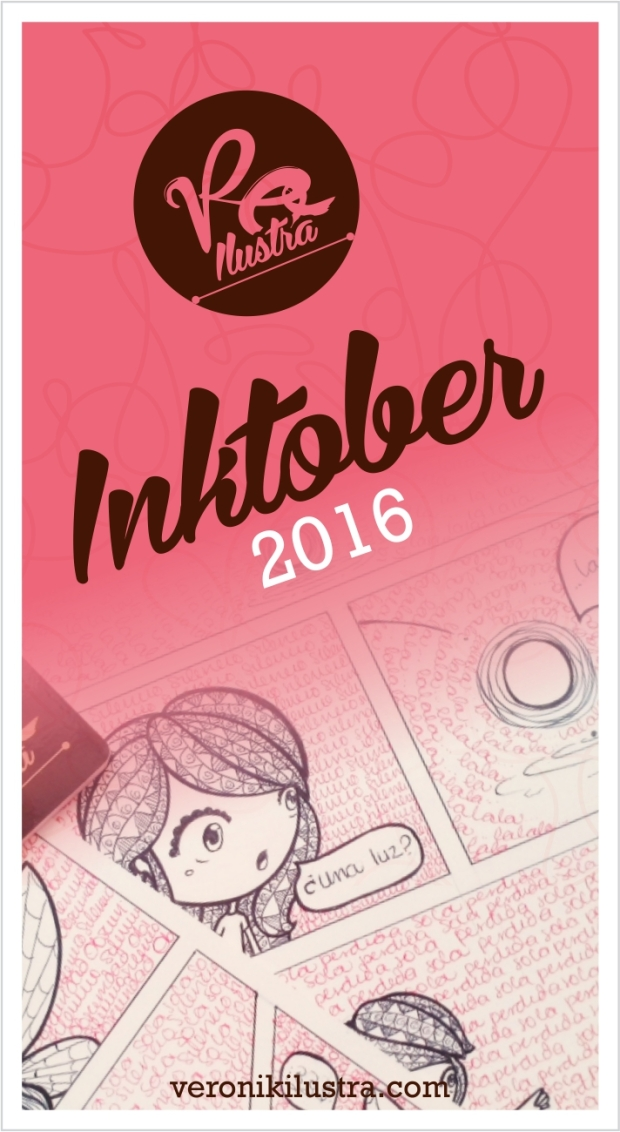 Inktober 2016 by Veronik Ilustra