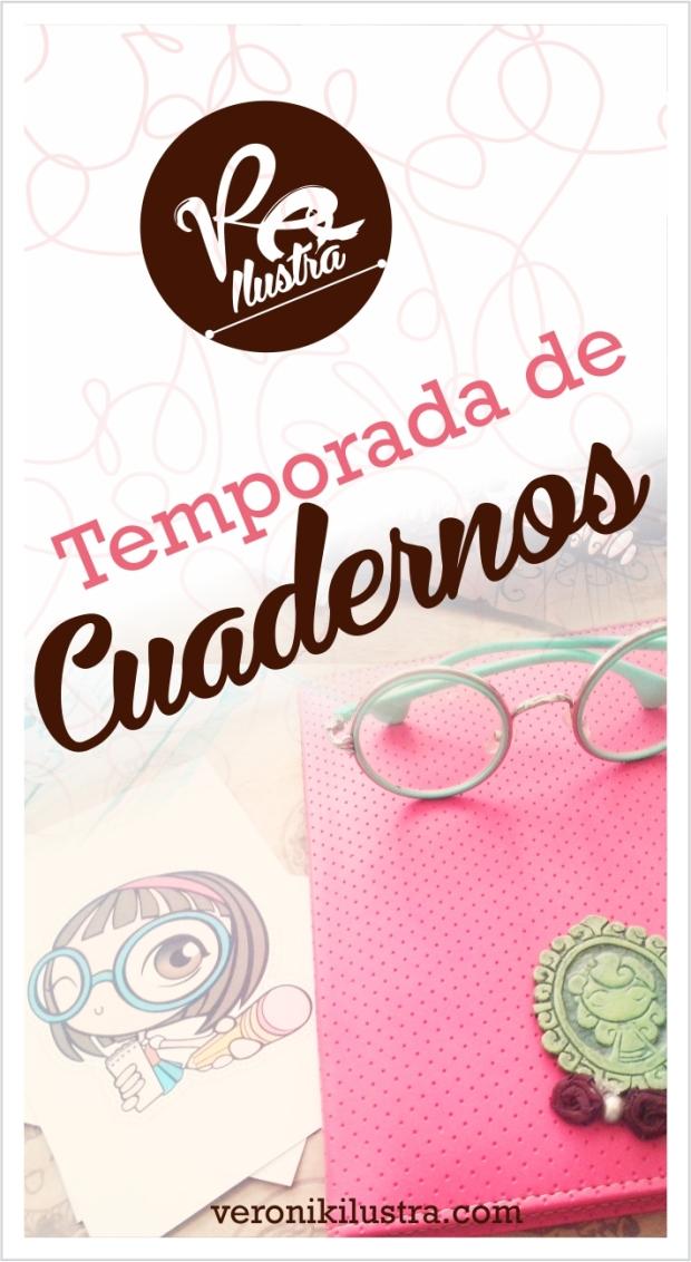 Temporada de cuadernos by Veronik Ilustra