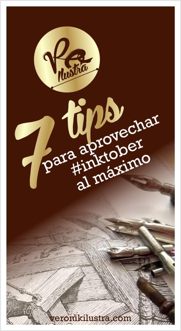 7 tips para aprovechar inktober al máximo by Veronik Ilustra